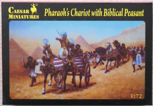 Caesar Miniatures 1/72 CMH042 Pharaoh's Chariot with Peasants (Ancients)